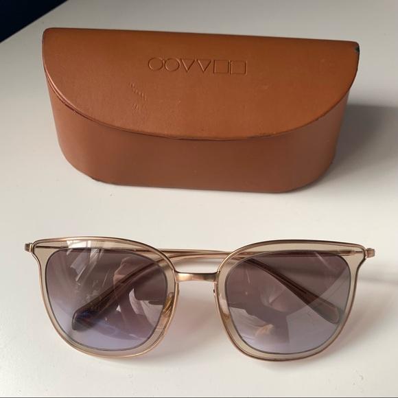 Oliver Peoples Rosegold Sunglasses